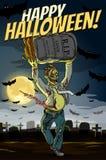 Glückliches Halloween! Lizenzfreies Stockfoto