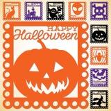 Glückliches Halloween! Stockfotos
