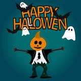 Glückliches Halloween Lizenzfreie Stockbilder