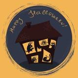So glückliches Halloween! Lizenzfreie Stockfotos