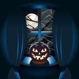 Glückliches Halloween-Plakat Lizenzfreie Stockfotos