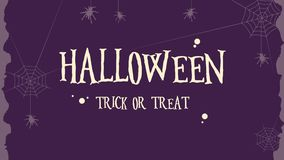 Glückliches Halloween Süßes sonst gibt's Saures vektor abbildung