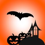 Glückliches Halloween, Halloween-Tag lizenzfreie abbildung
