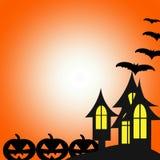 Glückliches Halloween, Halloween-Tag stock abbildung