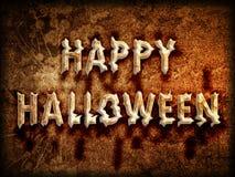 Glückliches Halloween-Zeichen Lizenzfreies Stockbild