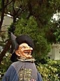 Glückliches Halloween-Zeichen - lächelnder Magier Lizenzfreies Stockbild