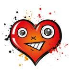 Glückliches Herz Stockfotografie