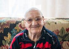 Glückliches hohes Alter stockbild