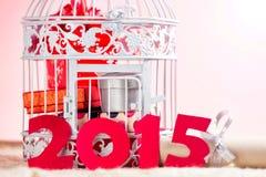 Glückliches 2015-jähriges Stockbilder