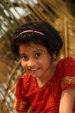 Glückliches junges asiatisches Mädchen Lizenzfreies Stockfoto