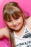 Glückliches junges Mädchen Lizenzfreie Stockfotos