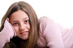 Glückliches junges Mädchen Lizenzfreies Stockbild
