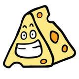 Glückliches Käse-Lächeln vektor abbildung