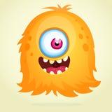 Glückliches Karikatur-Monster Stockfotografie