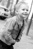 Glückliches Kind. Stockfoto