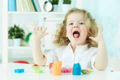 Glückliches Kind Stockfoto