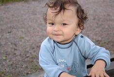 Glückliches Kind. Lizenzfreies Stockfoto