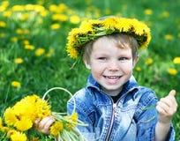 Glückliches Kind Lizenzfreies Stockfoto