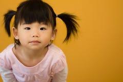 Glückliches kleines Kind Stockfoto