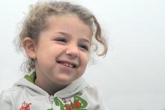 Glückliches kleines Mädchen Lizenzfreie Stockbilder