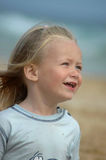 Glückliches Kleinkind Stockbild