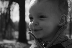 Glückliches Kleinkind Lizenzfreies Stockbild