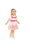 Glückliches Kleinkindmädchen stockfotografie