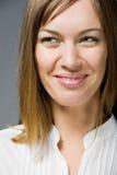 Glückliches lächelndes Gesicht Lizenzfreie Stockfotografie