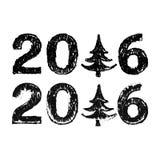 Glückliches neues 2016-jähriges Lizenzfreie Stockfotos