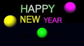 Glückliches neues Jahr lizenzfreie abbildung