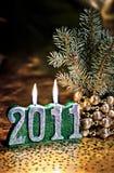 Glückliches neues Jahr. Stockfoto