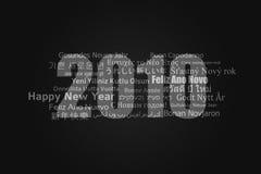 Glückliches neues Jahr 2010 Stockbilder