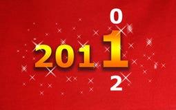 Glückliches neues Jahr 2011 Lizenzfreie Stockbilder