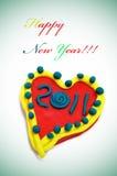 Glückliches neues Jahr 2011 Lizenzfreie Stockfotos