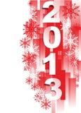 Glückliches neues Jahr 2013 Lizenzfreie Stockfotografie