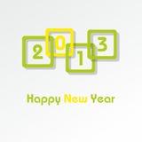 Glückliches neues Jahr 2013 Stockbild