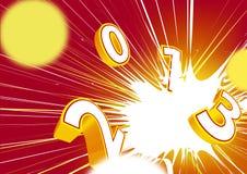 Glückliches neues Jahr 2013 Stockfotos