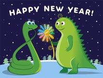 Glückliches neues Jahr 2013! lizenzfreie abbildung