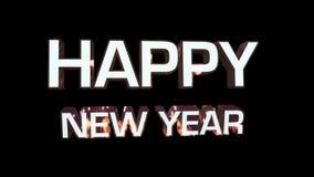 Glückliches neues Jahr stock video footage