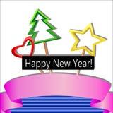 Glückliches neues Jahr! Lizenzfreie Stockfotos