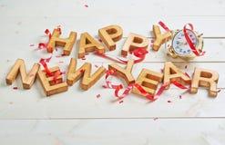 Glückliches neues Jahr-Aufbau Lizenzfreies Stockbild