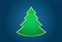 Glückliches neues Jahr-Felsen auf blauem Hintergrund Lizenzfreie Abbildung