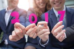 Glückliches neues Jahr-Konzept Lizenzfreies Stockfoto