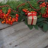 Glückliches neues Jahr und frohe Weihnachten Hintergrund Lizenzfreie Stockfotos