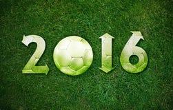 Glückliches neues Sportjahr Stockfotografie