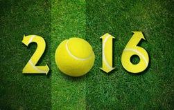Glückliches neues Sportjahr Lizenzfreies Stockfoto