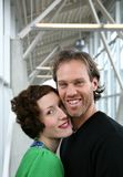 Glückliches Paar #1 stockfotos