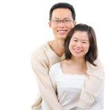 Glückliches Paar stockfotografie
