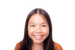 Glückliches schönes Mädchen Lizenzfreie Stockbilder