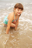 Glückliches Sommerkind Lizenzfreie Stockfotos